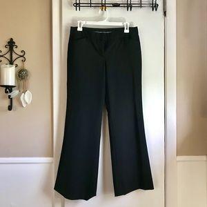 Express Editor Black Dress Pants - Size 4 short